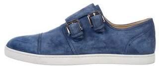 Christian Louboutin Henri Style Flat Monk Strap Sneakers