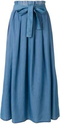 Fabiana Filippi pleated belted skirt