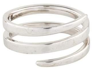 Anita Ko 18K Pinky Coil Ring