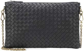Bottega Veneta Intrecciato leather chain wallet