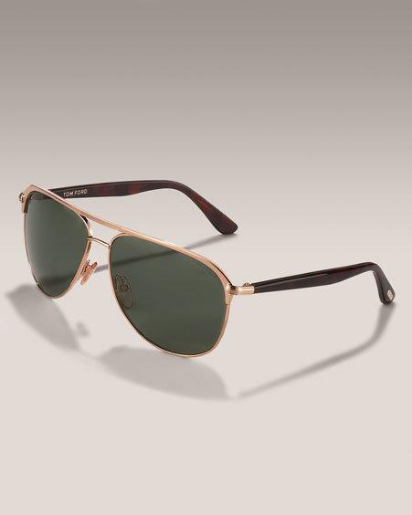 Tom Ford Keith Aviator Sunglasses