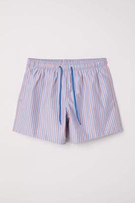 H&M Swim Shorts - Light pink/flowers - Men