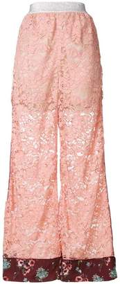 I'M Isola Marras lace palazzo pants
