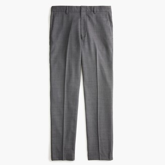 J.Crew Ludlow Classic-fit pant in stretch grey four-season wool