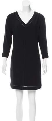 Rag & Bone V-Neck Long Sleeve Dress
