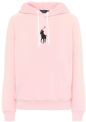Polo Ralph Lauren Cotton-blend jersey hoodie