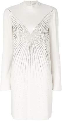 Stella McCartney embellished high neck mini dress