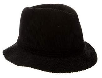Philip Treacy Textured Velvet Hat