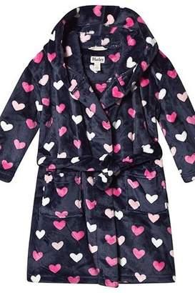 Hatley Lovey Hearts Fleece Robe