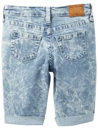 True Religion Geno Rolled Up Short End Shorts (Toddler & Little Boys)