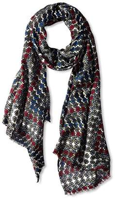 MIR Women's Patterned Scarf