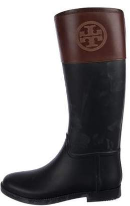 Tory Burch Knee-High Rain Boots