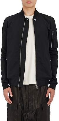 Rick Owens Men's Cotton-Blend Raglan Bomber Jacket