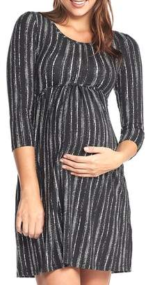 Tart Maternity 'Mathilde' Elbow Sleeve Maternity Dress