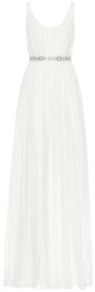 Stella McCartney Jade silk gown