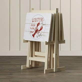 Beachcrest Home Whittier TV Tray Table with Stand