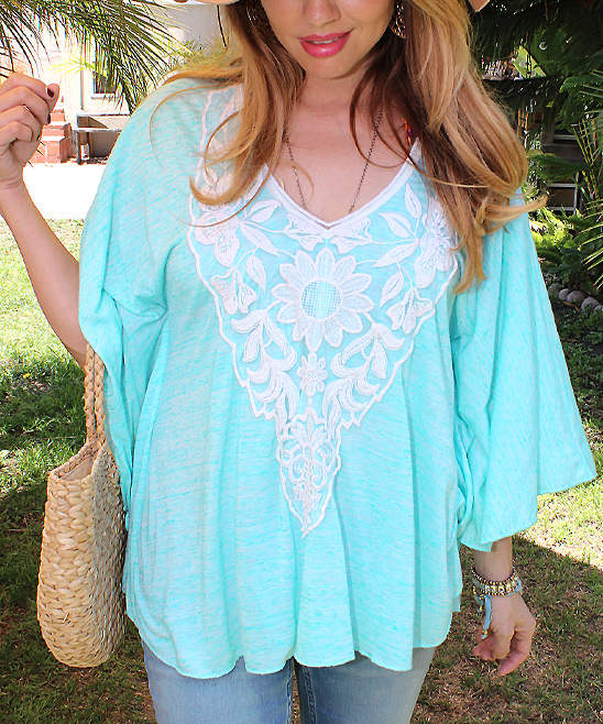 Mint Draped Malibu Tunic - Women
