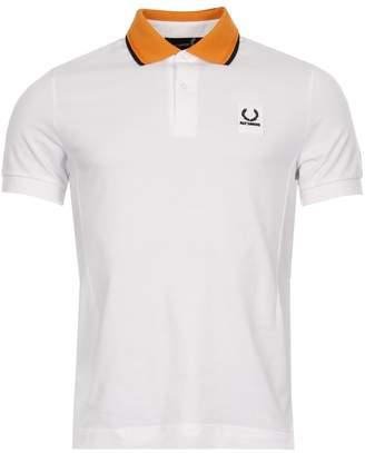 Raf Simons Fred Perry x Polo Shirt - White/Orange