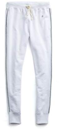 Todd Snyder + Champion Striped Slim Sweatpant In White