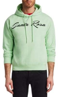 McQ Men's Big Santa Rosa Hoodie - Mint - Size Large