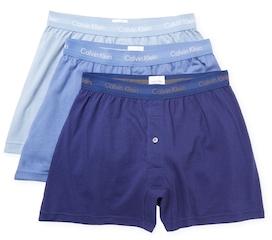 Classic Cotton Boxer Shorts (3 Pack) $39.50 thestylecure.com