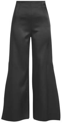 Roland Mouret Glover Cropped Satin Pants