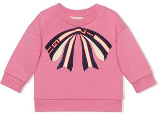 Gucci Kids Baby sweatshirt with bow