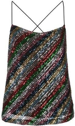 Milly sequinned cami top