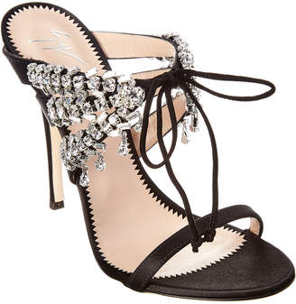 e140173de58d2 Giuseppe Zanotti Pink Embellished Women's Sandals - ShopStyle