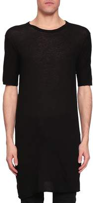Boris Bidjan Saberi Oversized Cotton And Cashmere T-shirt