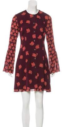 Maiyet Silk Printed Dress w/ Tags