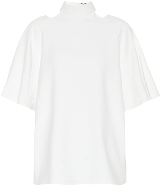 Tibi Cut-out detail blouse