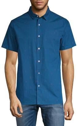 Tavik Men's Porter Short-Sleeve Cotton Button-Down Shirt