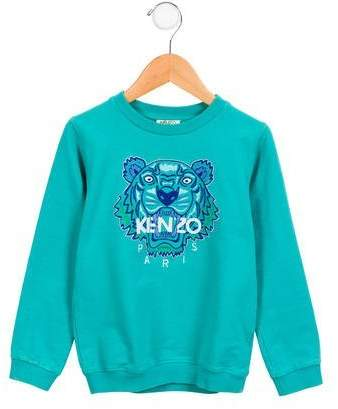 Boys' Embroidered Logo Sweatshirt