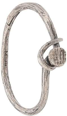 M. Cohen handwrought nail bangle