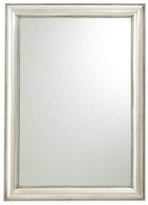 Pottery Barn Silver Beaded Mirror
