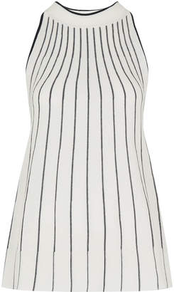 Whistles Stripe Trapeze Knit Vest
