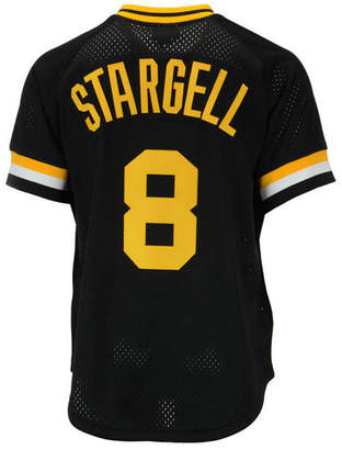 Mitchell & Ness Men Willie Stargell Pittsburgh Pirates Authentic Mesh Batting Practice V-Neck Jersey