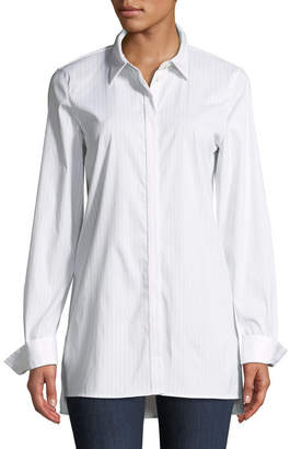 Lafayette 148 New York Brayden Stanford Stripe Blouse