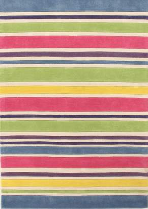 Unitex International Kidding Around-stripes Rug Gelato