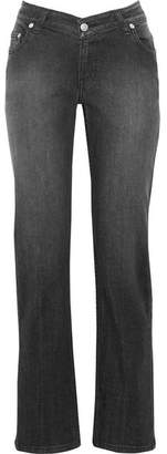 Opening Ceremony Dip Mid-rise Straight-leg Jeans - Black