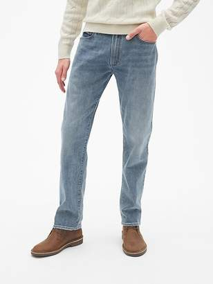 Gap Thermolite® Jeans in Straight Fit with GapFlex