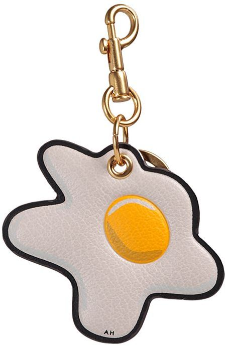 Anya Hindmarch Anya Hindmarch Egg Leather Key Ring