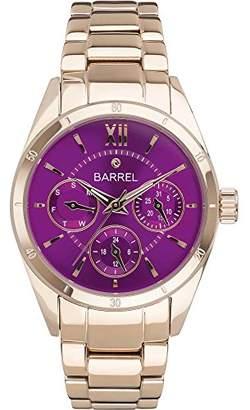 Barrel Women's Analogue Quartz Watch with Stainless Steel Strap BA-4010-03