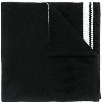 Dolce & Gabbana crown knit scarf