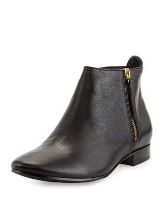 Cole Haan Belmont Leather Bootie, Black $168 thestylecure.com