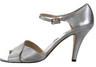 Michael Kors Metallic Crossover Pumps