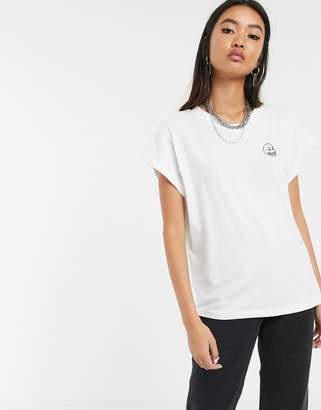 Cheap Monday Screen t-shirt with tiny skull logo
