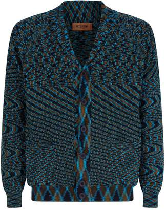 Missoni Cotton Jacquard Print Cardigan