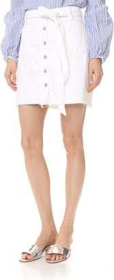 7 For All Mankind A-Line Skirt $159 thestylecure.com